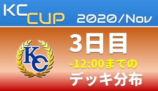 【KC Chart】2020/Nov KCカップ 3日目 -12:00までのデッキ分布【遊戯王デュエルリンクス】