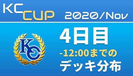 【KC Chart】2020/Nov KCカップ 4日目 -12:00までの デッキ分布【遊戯王デュエルリンクス】