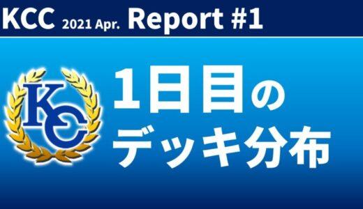 【KC Chart】KCC 2021/Apr.1日目の分布【遊戯王デュエルリンクス】
