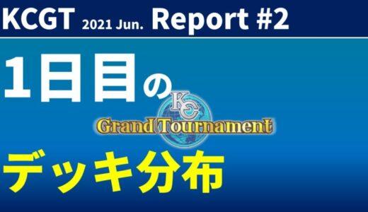 【KC Chart】KCGT 2021/Jun.1日目の分布【遊戯王デュエルリンクス】